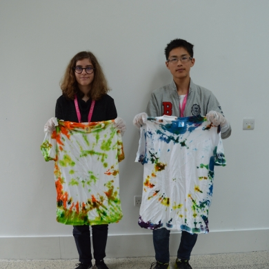 Tie Dye Project – These T-shirts look amazing!
